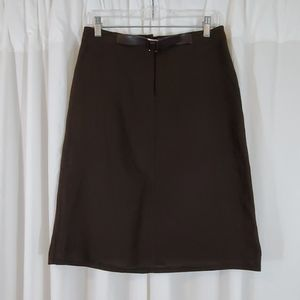 THE LIMITED Brown Skirt